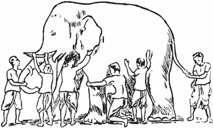 The 6 Blind Men and The Elephant