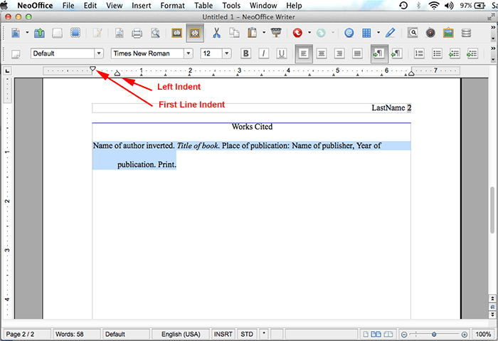 how to cite an employee handbook in mla