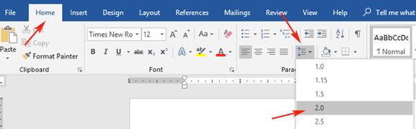 MLA Format Microsoft Word 2019