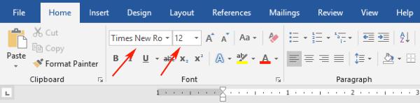 MLA Format Microsoft Word 2019   MLA Format