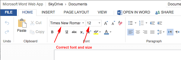 Formatting Your MLA Paper   MLA Style Guide   th Edition     openoffice firstpage